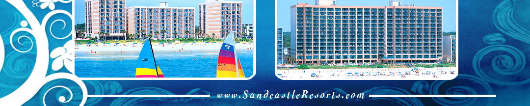 Sandcastle Resorts located in Myrtle Beach, SC