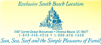 Sandcastle South Beach located in Myrtle Beach, SC